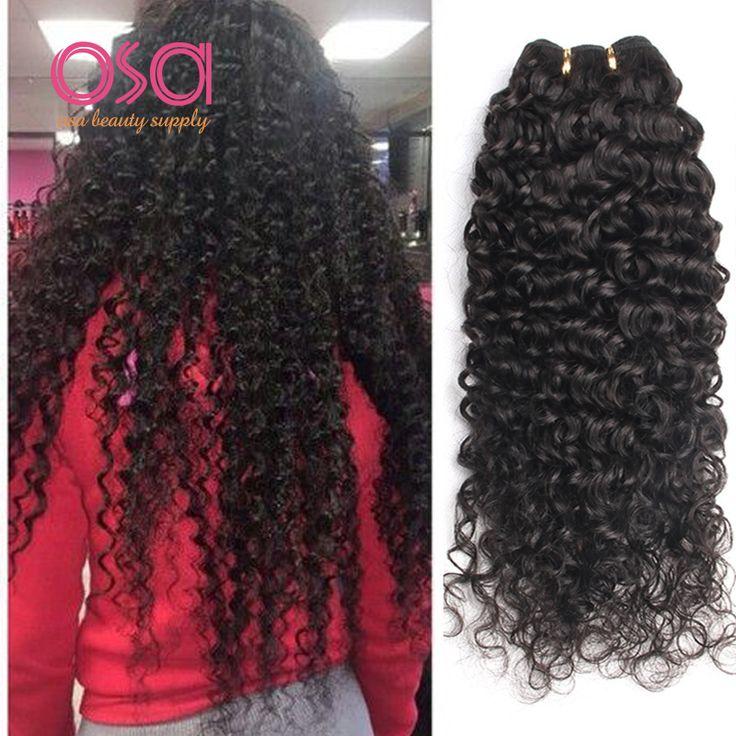 OSA Raw Indian Hair Indian Curly Virgin Hair Indian Virgin Hair 4pcs Indian Deep Wave Deep Curly Wet And Wavy Human Hair Bundles