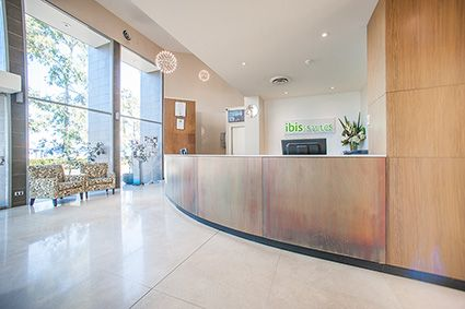 Wilsonart Australia's recent creative work with one of Accor's Hotels global brands in Lansvale, close to Liverpool, South West of Sydney, received five stars from management and guests.
