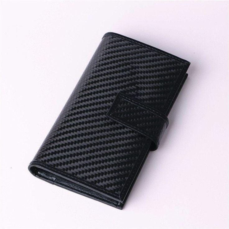 Luxury men wallet carbon fiber wallet