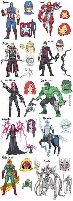 RITO PLS – Skins com temática dos Avengers