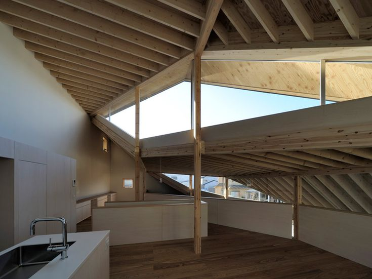 nakae architects: facing true south