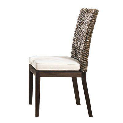 Panama Jack Sunroom Sanibel Side Chair with Cushion Upholstery: Bahamian Breeze Cinnamon