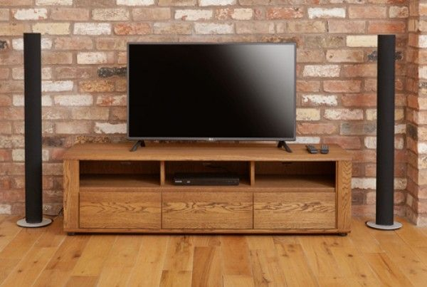 image Olten - Widescreen TV Cabinet with Three Drawers