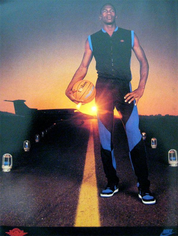 Michael Jordan 'Runway' Nike Air Jordan Poster (1985)