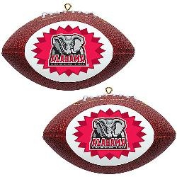 Topperscot Alabama Crimson Tide Two Mini Replica Football OrnamentsAlabama Tuscaloosa, Tide Rolls, Football Ornaments, Holiday Hoopla, Bama Stuff, Rolls Tide, Alabama Crimson Tide, Topperscot Alabama, Christmas Trees