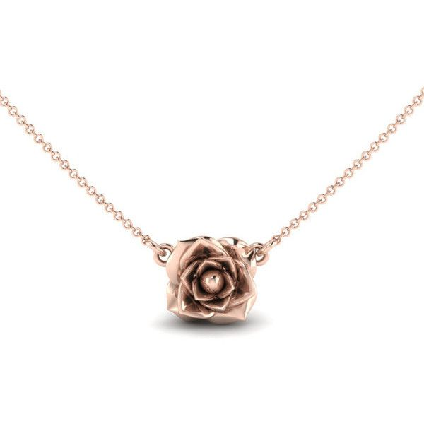 Rose Necklace ($150) ❤ liked on Polyvore featuring jewelry, necklaces, flower jewelry, flower necklaces, multi layer necklace, rose jewelry and rose jewellery