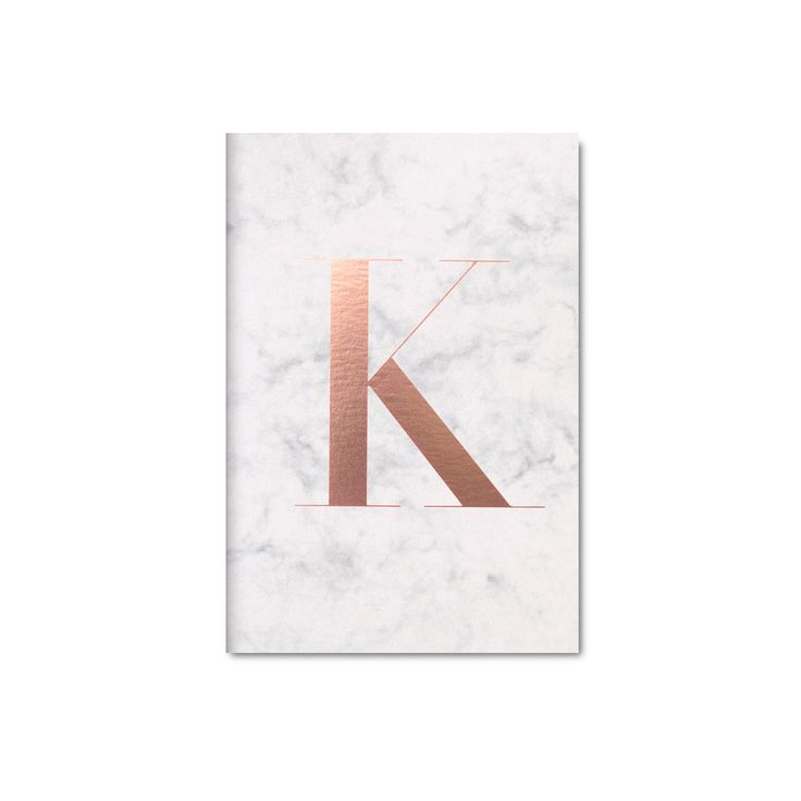 OWN: K Marble Notebook