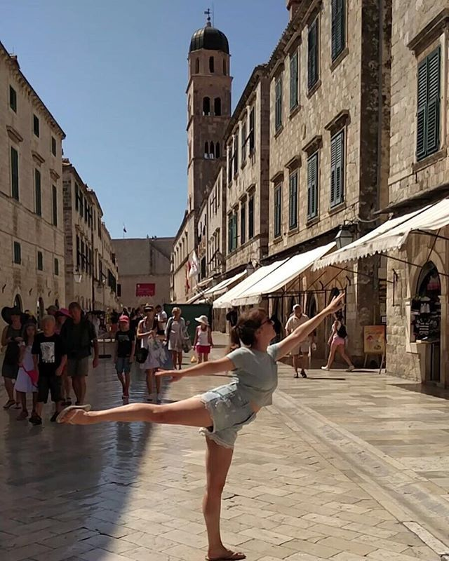 Dancing in Dubrovnik 💃 - - - #b... by @balletfitandtravel. #pic #picture #photos #photograph #foto #instaphoto #pictures #fotografia #color #capture #camera #moment #insta #pics #snapshot #사진 #all_shots #写真 #composition #фото #nice #good #day #lovely #perfect #passportready #getaway #instavacation #travelwriter #travelblogger #travelblog #traveltheworld #travelphoto #igtravel #travelbug #travelpics #travellife #traveladdict #travelingram #travelling #globetrotter #instapassport #traveller…