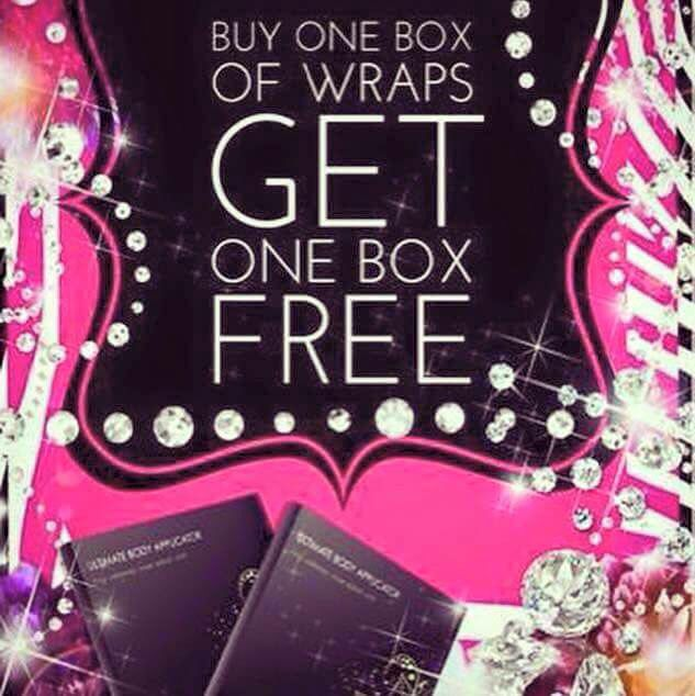 Today's the last day for BOGO wraps!!!!! Get this deal before it's gone and who knows when it'll come back again!!! $59 for 8 wraps (2 boxes)!  That's two full treatments to try!!!!!  Retail: $99 a box of 4! Parties: $25-30 a wrap! Loyal customer/distributor:$59 a box of 4! Until tonight online only:$59 for 2 boxes of 4!   This is a deal you can't pass up! $7.40 per wrap!!!   Ask me how or visit my website: www.jennyjurell.myitworks. com   #itworks #bogo #lastchance #dontmissthis #wraps