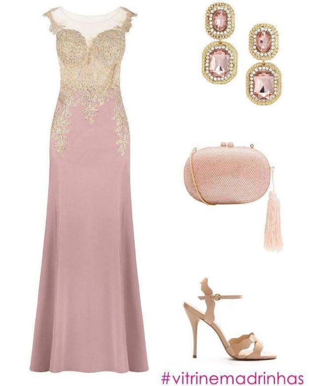44 best vestidos festa madrinha images on Pinterest | Cute dresses ...