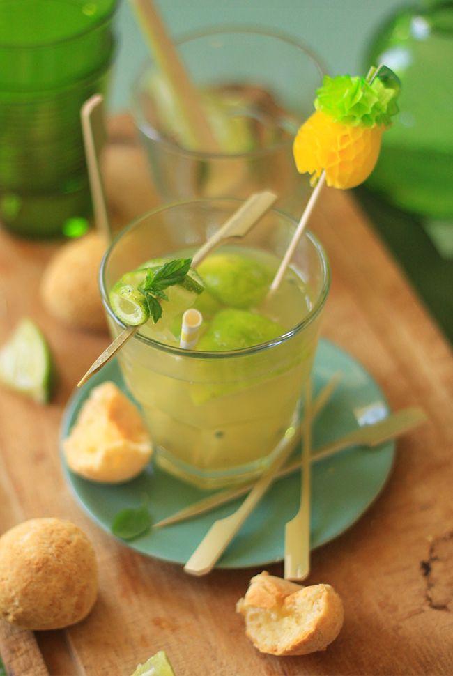 Caipirinha aux fruits de la passion CAÏPIRINHA AUX FRUITS DE LA PASSION