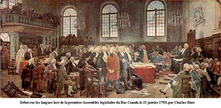 Histoire (2): Le Régime britannique (1760-1840)
