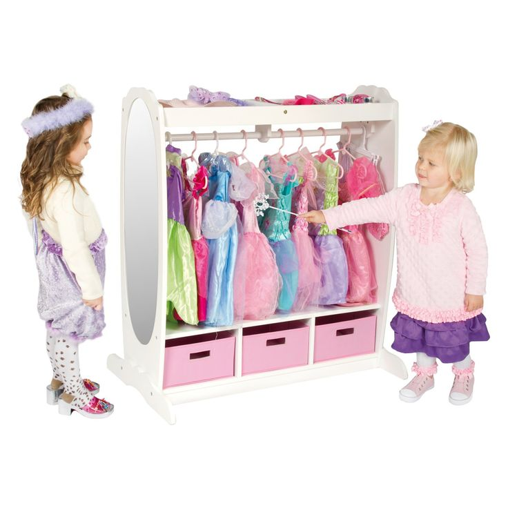 Guidecraft Dress Up Storage - White - About GuidecraftGuidecraft was founded in 1964 in a small woodshop, producing 10 items. Today, Guidecraft's line includes over 160 educati...