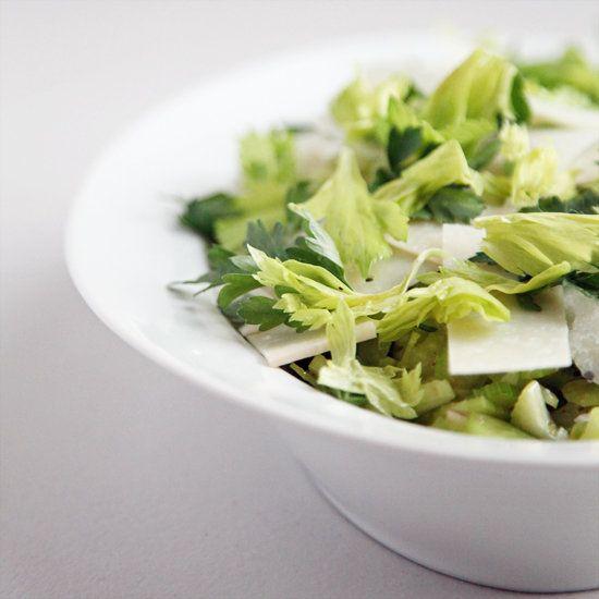 Celery and Parmesan Salad   Recipe