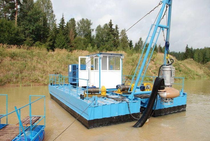 Добыча и промывка песка на производственных испытаниях оборудования
