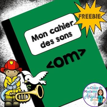 This freebie is part of a series called Mon cahier des sons. Each package in the series features a mini-booklet of 7 activities for students to use while practicing a variety of sound patterns in French. Activities include a word search, fill in the blanks, read and illustrate the sentences and tracing exercises.