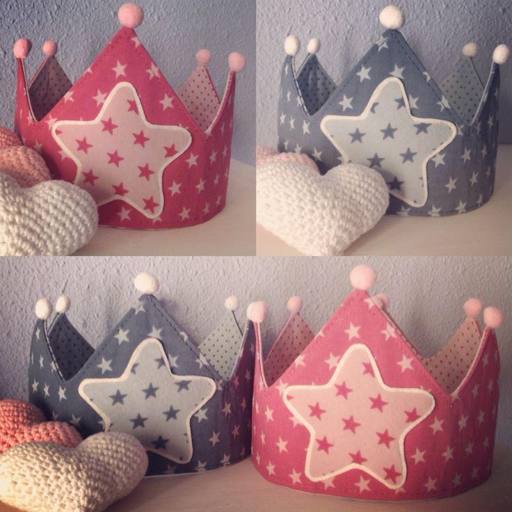 Coronas de tela Stars handmade ✂️