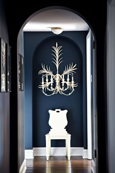 Farrow & Ball Hague Blue on Lisa Mende Design: Best Navy Blue Paint Colors - 8 of my Favs!