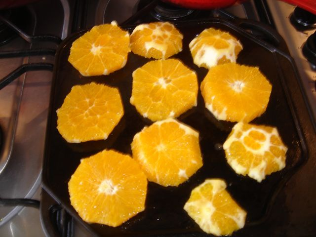 Burnt Orange Sauce for Duck