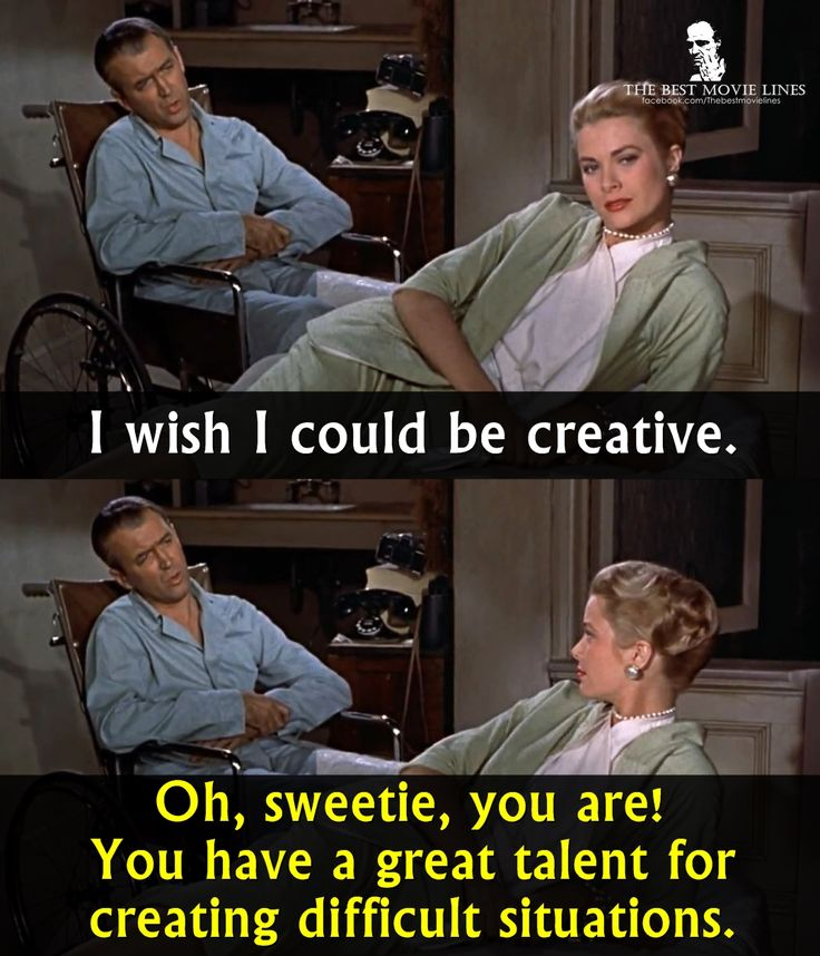 rear window and quote give context Alfred hitchcock's rear window - a short analysis of the use of non-verbal   offering us illicit voyeuristic pleasures of precisely the sort that typical movie  experiences give  the background of jeff, the main character, is explained in  one long single  quote paper: sandra miller (author), 2003, the camera tells  the story.