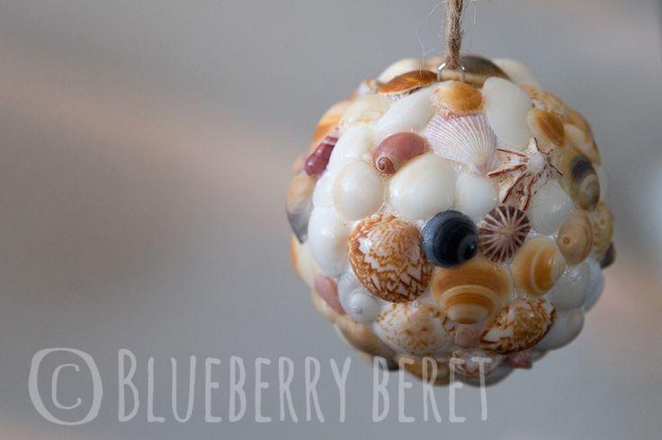 Seashell Sphere Ornament  **Listing is for 1x Seashell Sphere Ornament**  Made using a collection of ...   https://nemb.ly/p/4kfFTRDtZ Happily published via Nembol