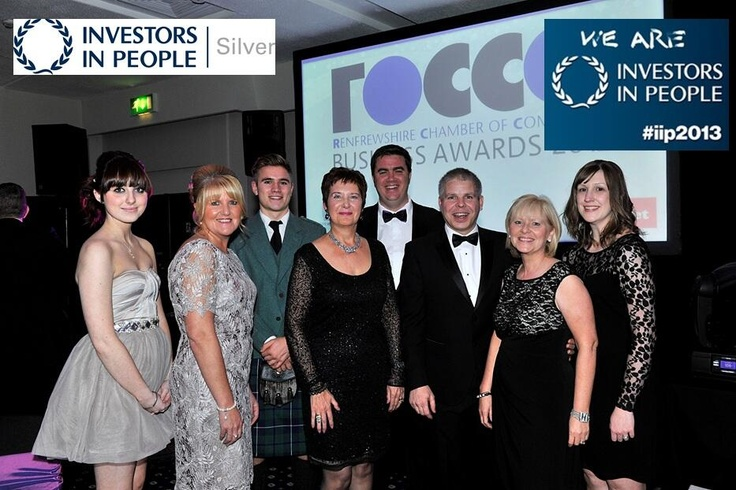 Renfrewshire Chamber of Commerce - We are Investors in People! #iip2013