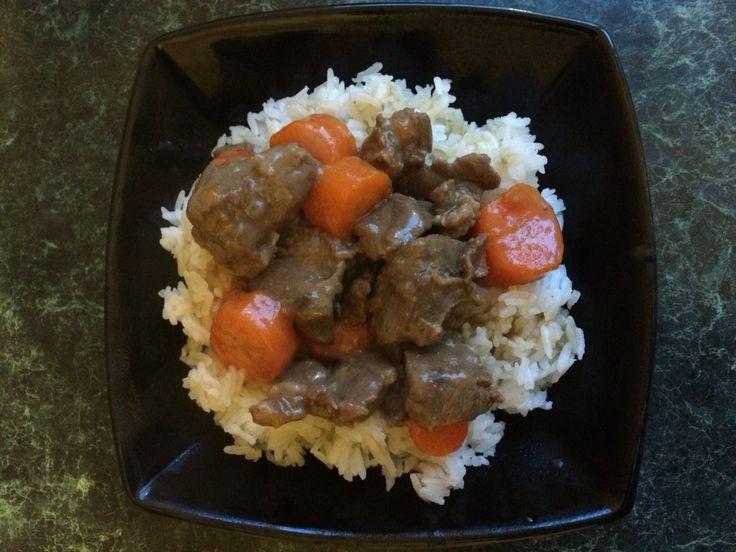 Chinese marinated beef stew