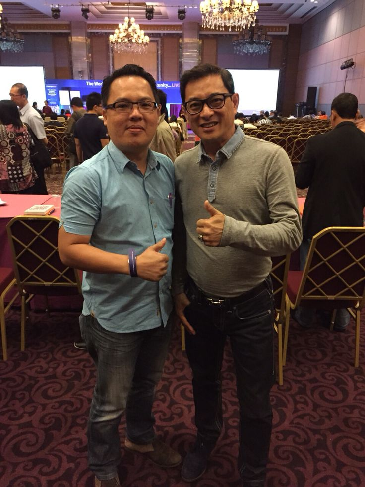 Me and Mr.James Gwee [Pakar Sale and Marketing]