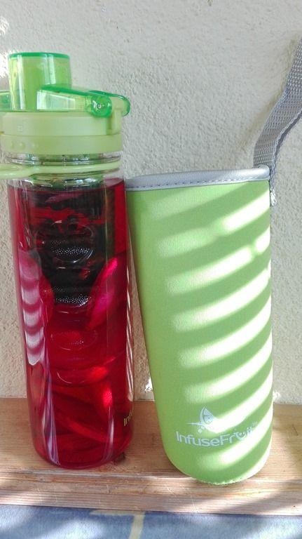Infuser - Detox-Fruchtwasser-Flasche - 750 ml