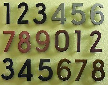 1,2,3-Bronze,   4,5,6-Satin Nickel,   7,8,9-Copper,    0,1,2-Antique Copper,   3,4,5-Black Pewter,    6,7,8-Satin Brass