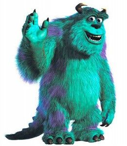 If I must be a monster I choose to be Sully.  He's loveable and cute.  What kind of monster are you??