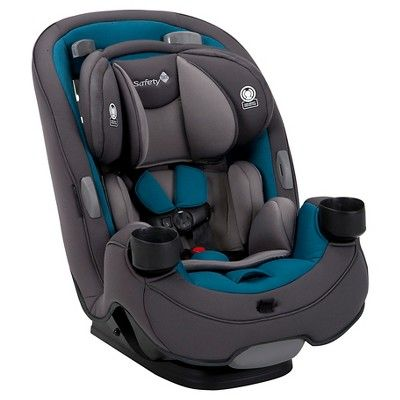 Safety 1st Grow & Go 3-in-1 Convertible Car Seat, Blue Coral