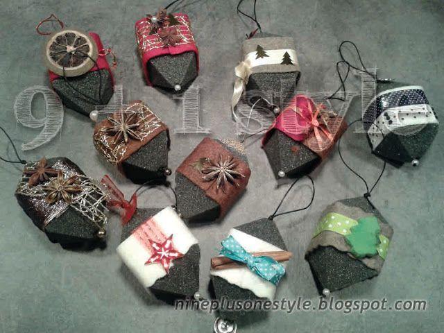 """""""Palle"""" di Natale molto originali - DIY Special Christmas ornaments"""