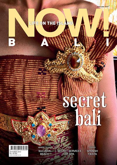 NOW! Bali magazine cover - October 2013