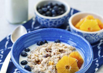 Grovgröt med frukt och frön   MåBra - Nyttiga recept
