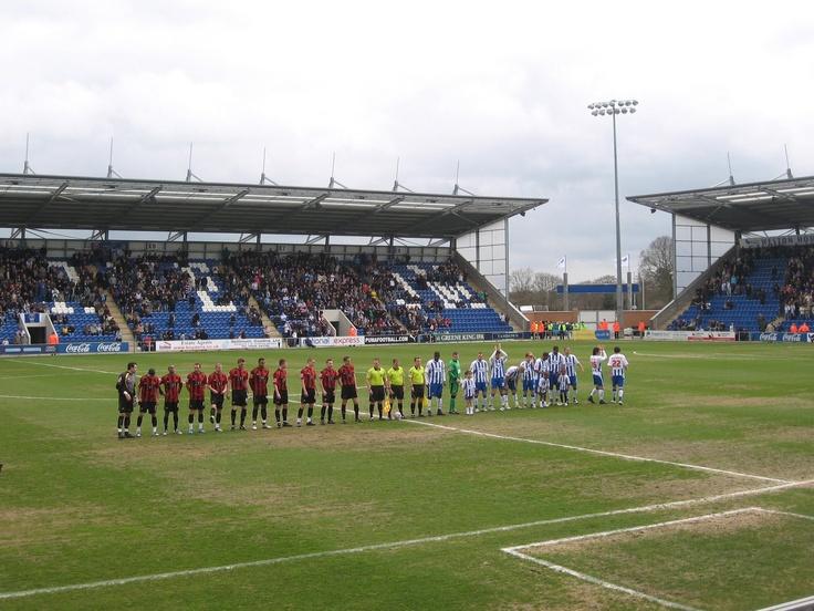 Weston Homes Community Stadium, Colchester United