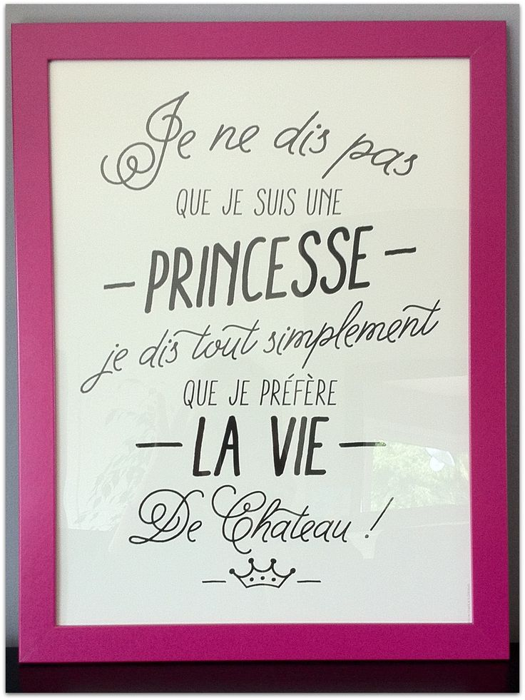 Affiche Princesse | Les mini tornades