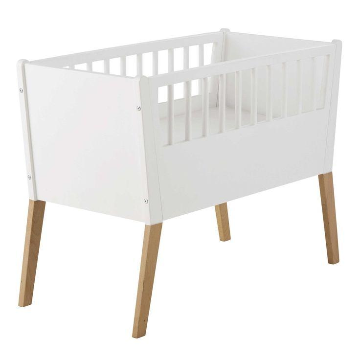 Witte houten wieg L 95 cm - Sweet