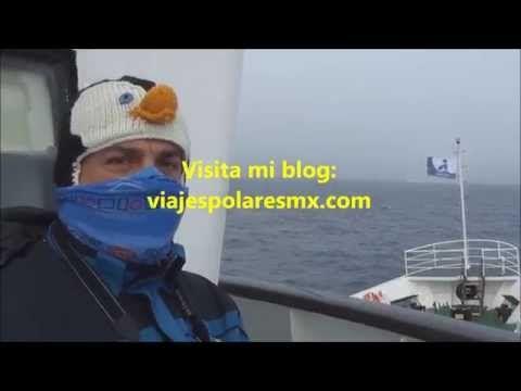 Cruzando el Circulo Polar Antartico - Crossing Polar Circle