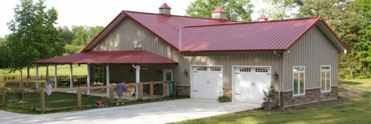 Morton Buildings Residential Garage Thoughts Pinterest