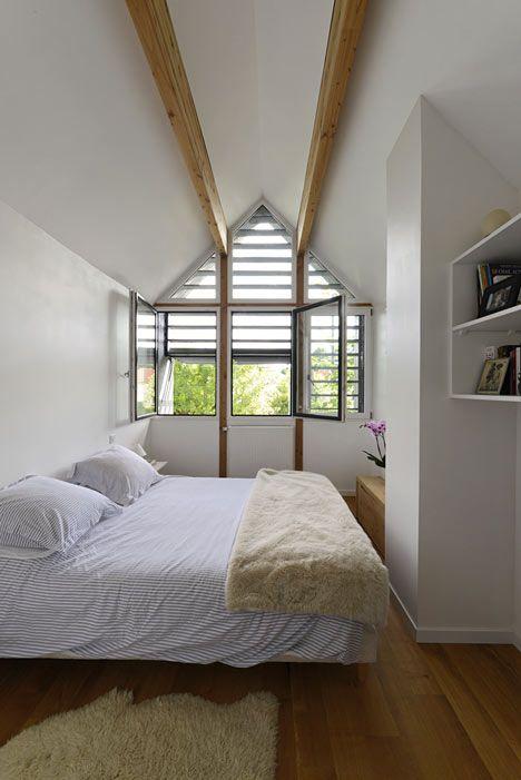 Une Maison sur la Maison by THE Architectes