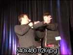 David Hewlett and Joe Flanigan <3  oh my god, so dumb and so adorable.