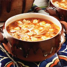 Pozole Rojo - Chicken, Pork & Hominy Stew Pozole is a hearty Mexican stew of pork, hominy and chiles served throughout the Pacific coastal states of Mexico, especially Guerrero, Michoacán and Jalisco. Depending on the region, different chiles are added, which affects the color and flavor of the dish. Here, we use GOYA® Guajillo Chiles, which contribute a rich, slightly smoky flavor as well as a beautiful brick red color.