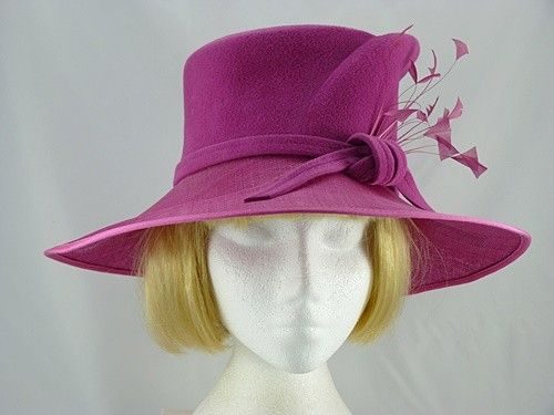 Latest Items: Failsworth Millinery Cerise Winter Occasion Hat (Price: £44.99)