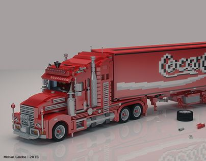 "Check out new work on my @Behance portfolio: ""LEGO Coca Cola Truck"" http://on.be.net/1WtUYM0"