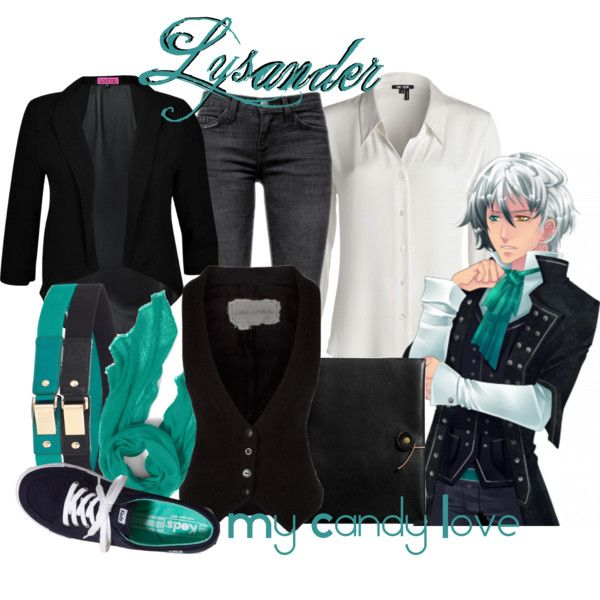 """""""Lysander, from My Candy Love"""" by blackrabbitmegapig on Polyvore"""