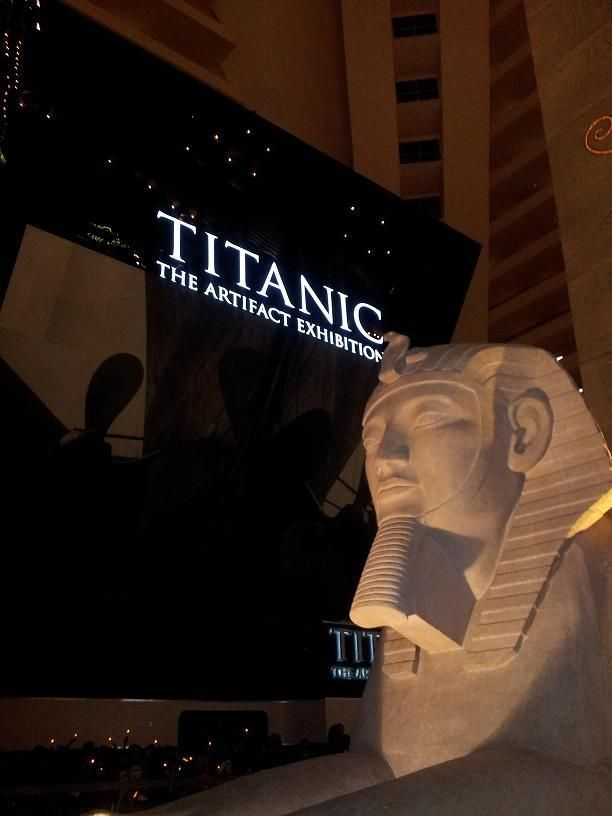 Titanic: The Artifact Exhibition located on Luxor's Mezzanine Level is one of the most unforgettable experiences you'll have in Vegas. Be sure that it makes your list of things-to-do next time you're in Vegas. #Titanic #lasvegas #travelthursday http://www.rmstitanic.net/exhibitions/titanic-las-vegas.html