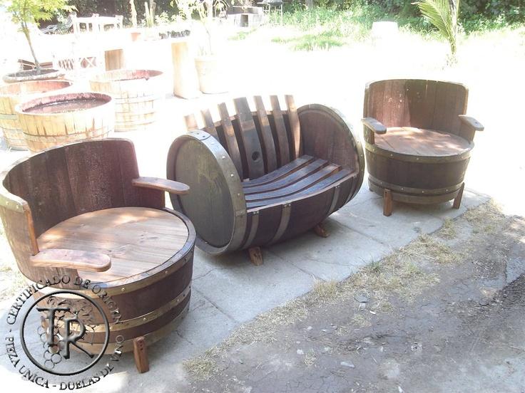 55 Best Images About Bourbon Barrel Furniture For Life On