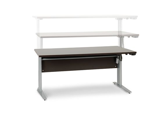 Network Plus Sit Stand Desk Office Furniture Pinterest