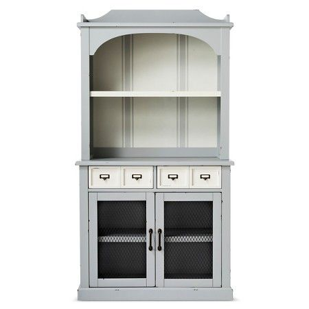 Westville Fully Assembled Distressed Buffet With Hutch